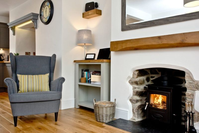 Open plan living space | 3 Skaigh View Cottages, Sticklepath, near Okehampton