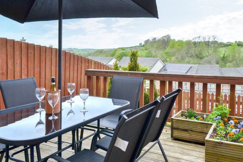 Inviting sitting-out-area | Parisons, Torrington
