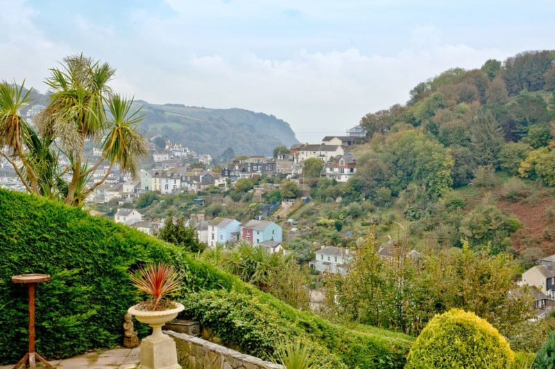 Stunning far reaching views from the garden | Thurlestone Heights, Dartmouth