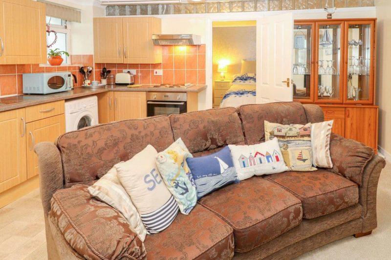 Open plan living space | The Garden Flat, Torquay