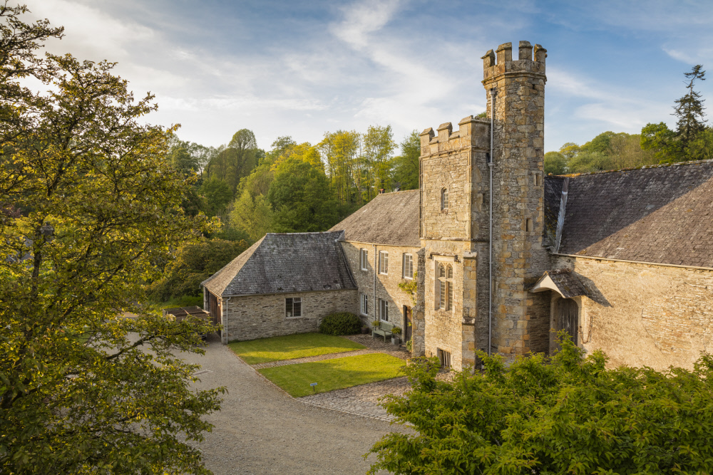 Abbot's tower at Buckland Abbey