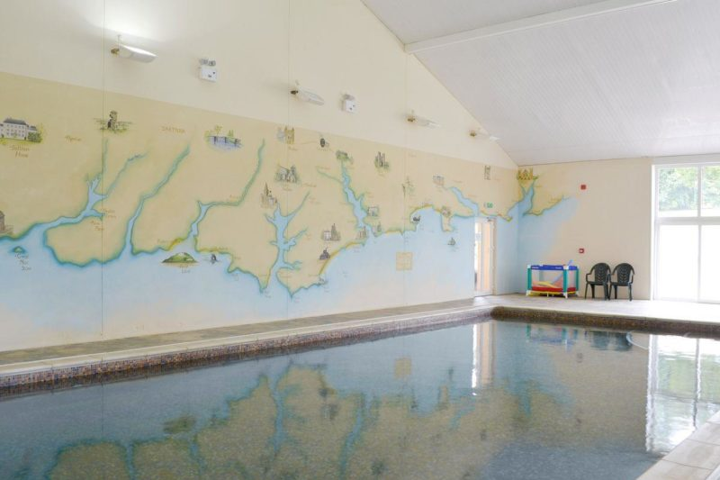 Luxurious shared indoor swimming pool | Highe, Halwell, TotnesHarberto