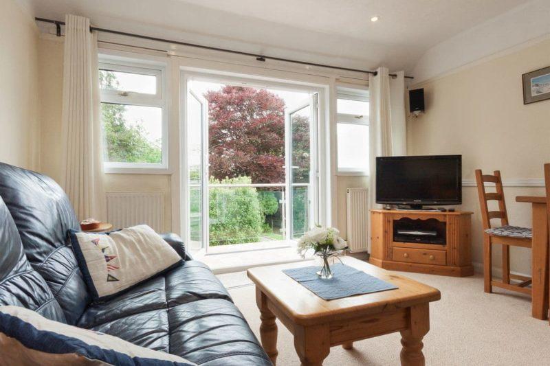 Comfortable living area | St Elmo's LodgeFlat 1, Salcombe