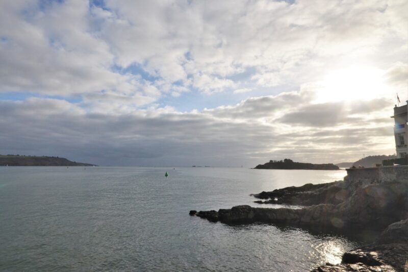 Views to enjoy from the waterfront only minutes walk from the property