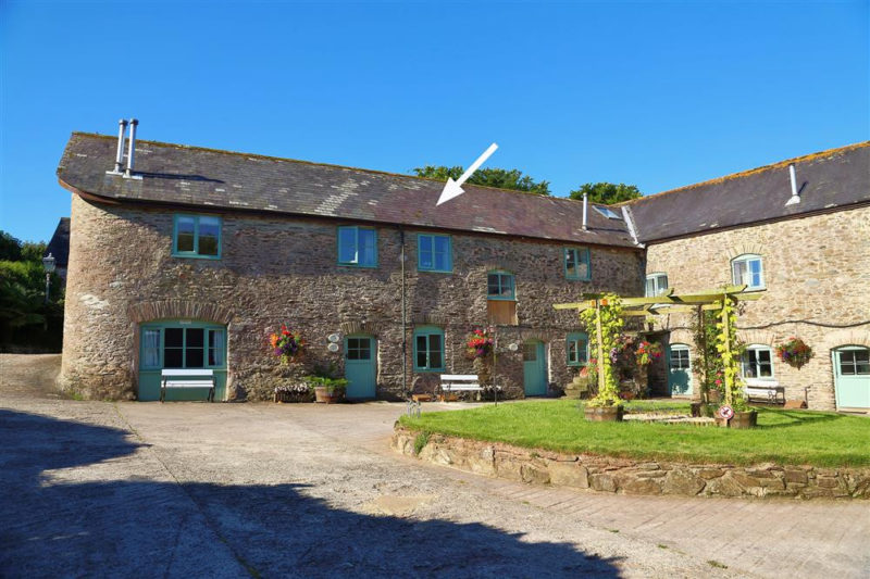 Maple Cottage, a first floor apartment in beautiful Buckland Court.
