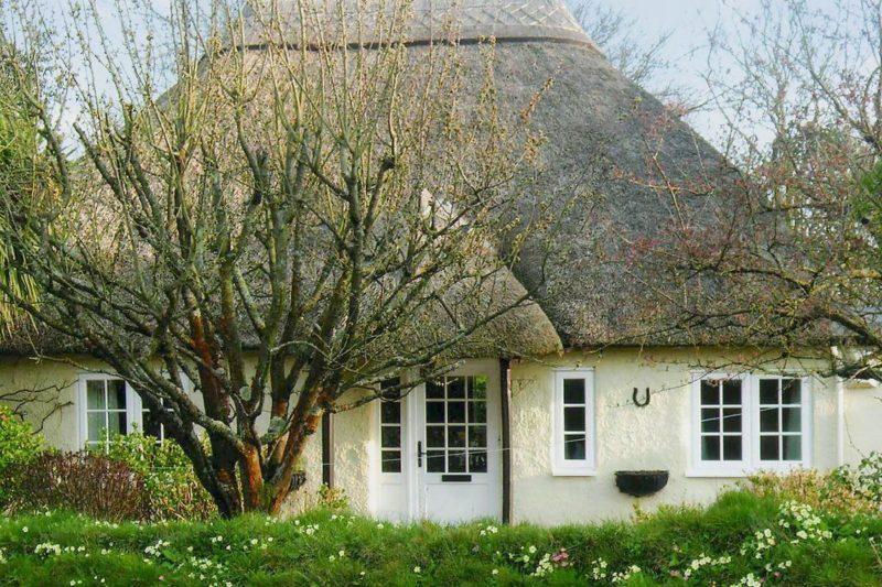 Exterior   Monks Thatch Cottage, Otterton