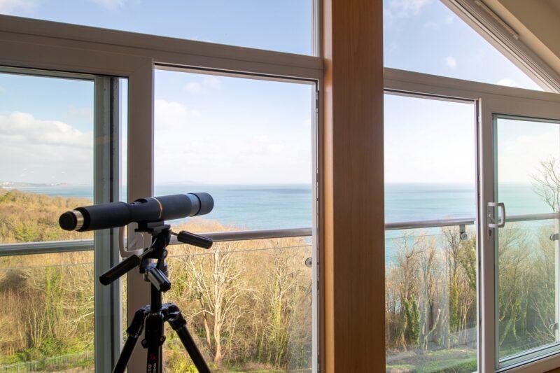 Stunning vista as soon as you step inside