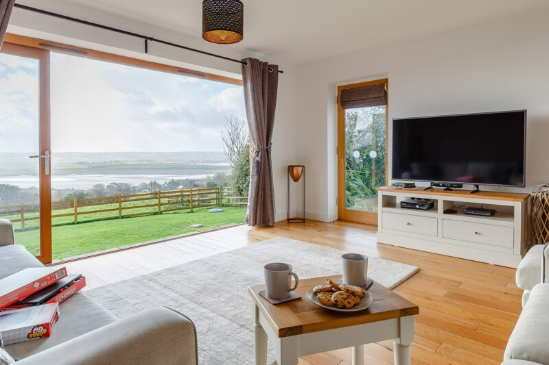 Bring the outside inside with fabulous views