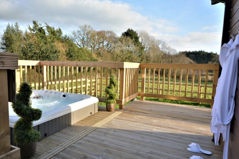 Relax in your very own hot tub