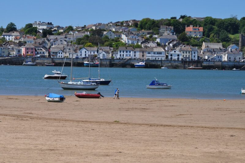 The sands at Instow looking over to Appledore