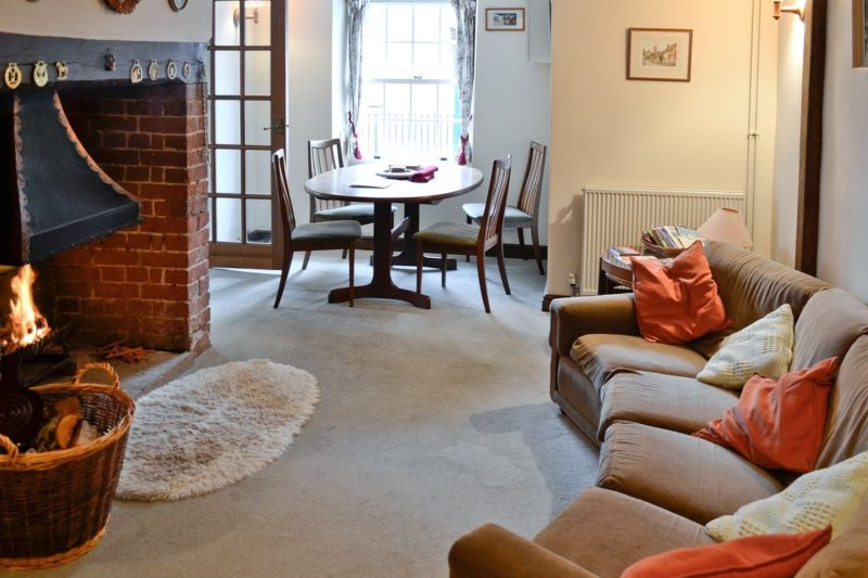 Living room/dining room | Lillian's Cottage, Dunsford, nr. Exeter