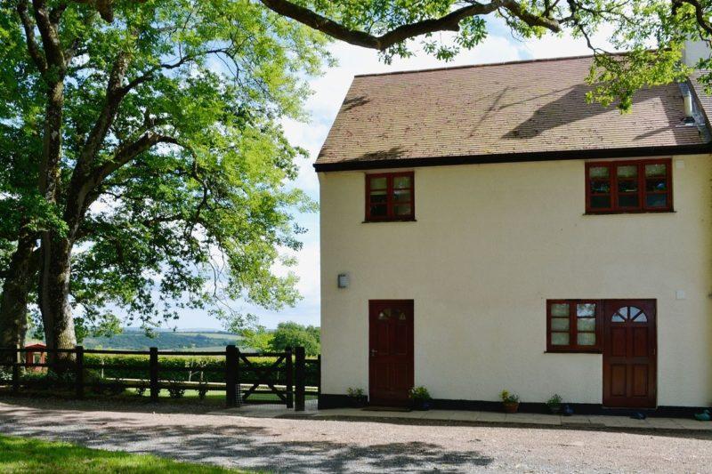 Exterior | East Hillerton Lodge, Spreyton, nr. Okehampton