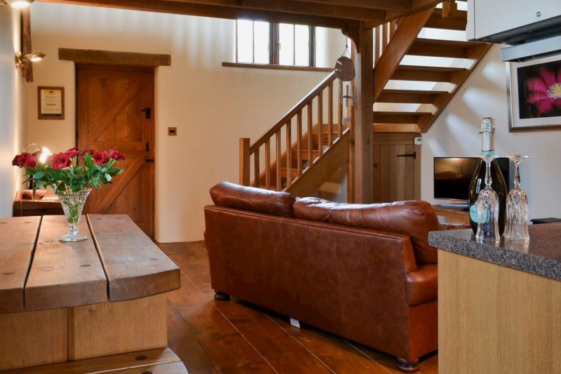 Delightful open plan living space | Orchard Keepers Cottage, East Chilla, near Halwill Junction, Beaworthy