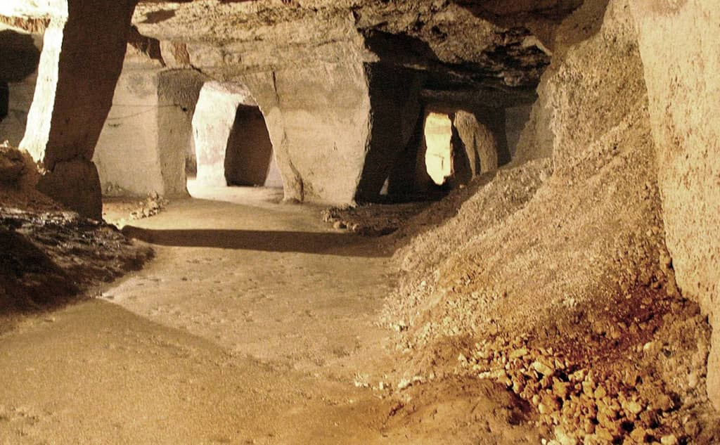Beer Quarry Caves
