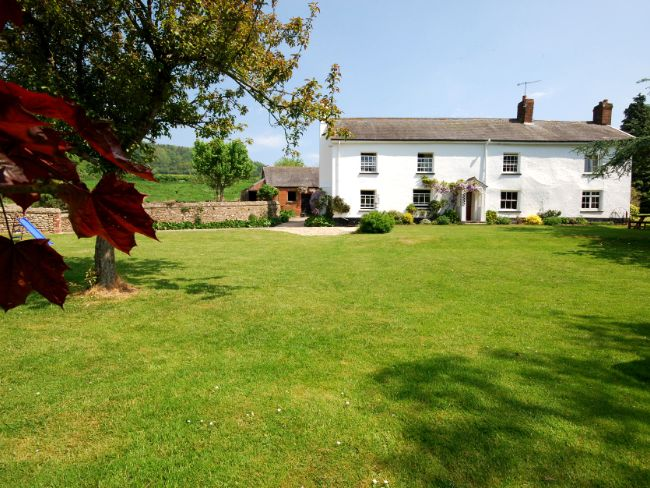 View towards the farmhouse