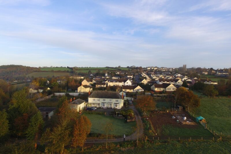 Walking distance to the village and beautiful countryside walks