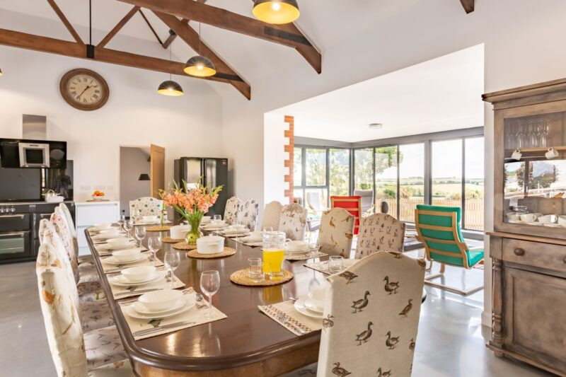 Fabulous Kitchen/Diner with original beams